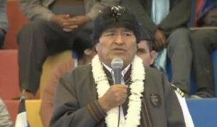 Bolivia: Evo Morales denunció amenazas de muerte