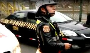 Puente Piedra: dio sus descargos policía que intervino a ambulancia