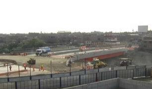 Puente Bella Unión: así se encuentra la construcción a 12 días de su inauguración