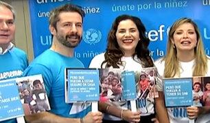 Unicef lanza campaña para ayudar a niños damnificados por desastres naturales