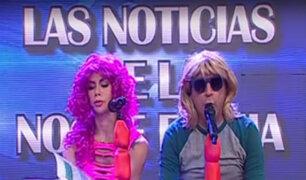 """El noticiero de """"La Noche Es Mía"""" con Carlos Galdós y Xoana González"""