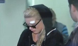 Leslie Shaw: cantante fue herida por delincuentes que le robaron su auto