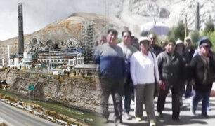Trabajadores exigen reactivación de complejo metalúrgico de La Oroya