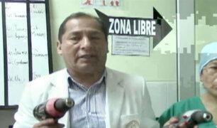 Médicos que operaron con taladro se declararán en emergencia por falta de equipos