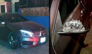 Delincuentes abandonan en Salamanca vehículo robado a Leslie Shaw