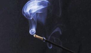 ¿Sabía qué el humo del incienso es potencialmente dañino para su salud?