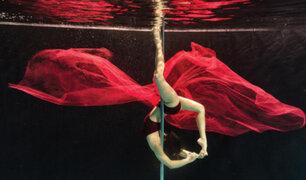 El Pole Dance Acuático: una nueva modalidad para ejercitarse