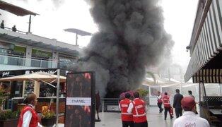 PNP responsabiliza a UVK por incendio en Larcomar que dejó 4 muertos