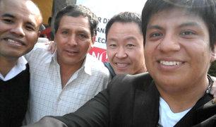 Cónclave de Fuerza Popular: Kenji Fujimori se fotografía solo con parlamentarios de provincias