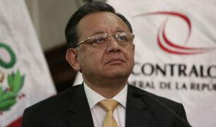 Edgar Alarcón fue removido de su cargo en la Contraloría
