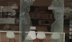 Barranco: sujetos asaltan inmobiliaria con la modalidad del 'combazo'
