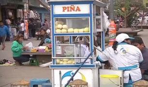 Vendedores ambulantes se apoderan de principales calles y avenidas en SMP