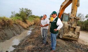 Piura: continúan labores de prevención en ríos Chira y Piura
