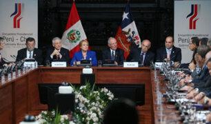 Gabinete Binacional Perú-Chile logró importantes entendimientos