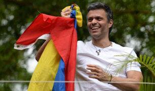 Venezuela: Leopoldo López volvió a su residencia bajo arresto domiciliario