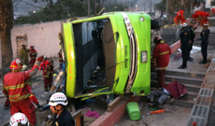 Tragedia en Cerro San Cristóbal: identifican a víctimas del accidente