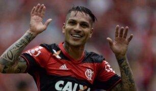 Paolo Guerrero: Flamengo venció a Vasco y pelea el título del Brasileirao