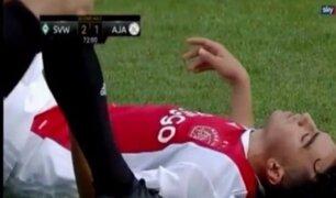 Ajax: jugador sufre arritmia cardíaca en amistoso