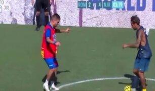 Neymar se divierte así en el fútbol 5