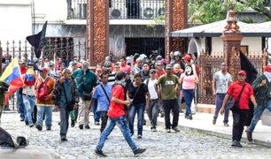 Militares se rebelaron contra Gobierno de Nicolás Maduro