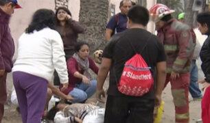 Denuncian que hospital Loayza no tiene tomógrafo para atender a heridos de Cerro San Cristóbal