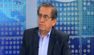 """Jorge del Castillo: """"Proceso electoral del APRA fue una votación de lista cerrada"""""""