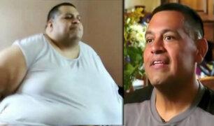 Hombre logra perder 200 kilos gracias a una aplicación en su smartphone