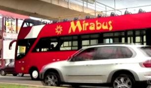 Mirabús protagonizó otro accidente vehicular en 2014