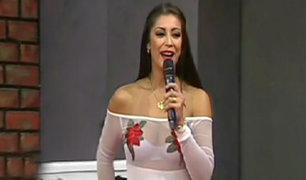 Karla Tarazona habla sobre su expareja Christian Domínguez
