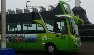 Cerro San Cristóbal: bus accidentado registra cinco papeletas sin pagar