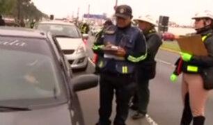 Otorgan amnistía a choferes con papeletas en el Callao