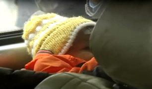Cerro San Cristóbal: fue dado de alta bebé que sobrevivió a accidente