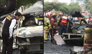 Peritos de Criminalística inician investigaciones por explosión en San Isidro