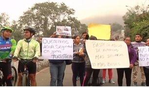 Deudos del accidente en Cerro San Cristóbal indignados con Luis Castañeda