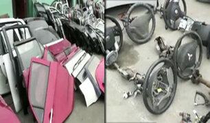 Comas: hallan autopartes robadas dentro de plantel escolar