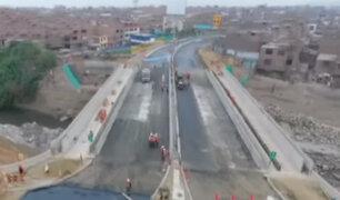Puente Bella Unión estará abierto al tránsito desde este lunes