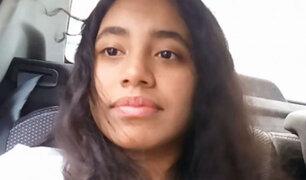 Desaparece escolar de 16 años en La Molina