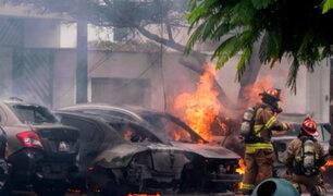 San Isidro: así quedaron las viviendas tras explosión de balones de gas