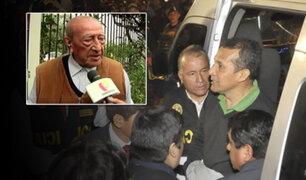 Isaac Humala se pronuncia sobre prisión preventiva de ex pareja presidencial