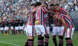 Cueva juega en empate de Sao Paulo ante Atlético Goianiense