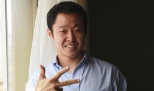 Kenji Fujimori se defiende de forma irónica ante Fuerza Popular