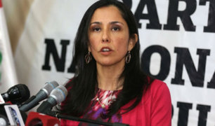 Huelga de maestros: Nadine Heredia critica al fujimorismo
