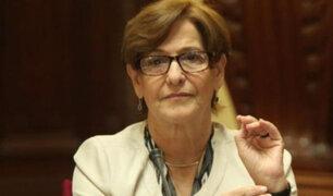 Congresistas se pronuncian sobre acusaciones contra Susana Villarán