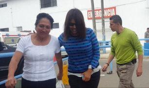 Anexo del penal San Mónica: Nadine Heredia recibió la visita de su madre