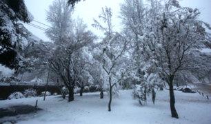 Chile: inusual nevada deja un muerto y miles de viviendas sin electricidad