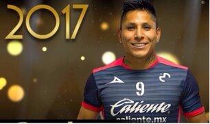 Raúl Ruidíaz gana el 'Balón de Oro MX' al 'Mejor delantero'