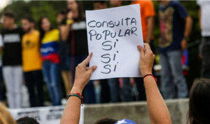 Opositores Venezolanos votan contra Asamblea Constituyente de  Maduro