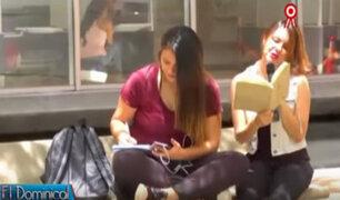 Experimento social: singular método para incentivar el hábito de la lectura