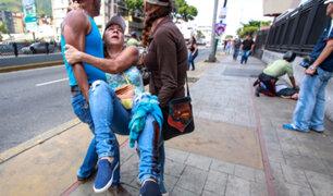 Venezuela: un muerto y tres heridos en tiroteo durante plebiscito opositor