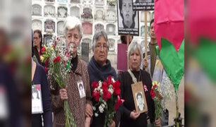 La Cantuta: familiares de víctimas realizan romería en cementerio 'El Ángel'